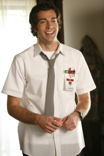 "CHUCK -- ""Pilot"" -- Pictured: Zachary Levi as Chuck -- NBC Photo: Greg Gayne"