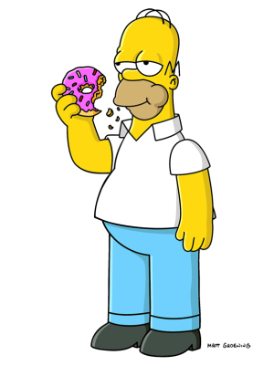 Homer Simpson Donuts