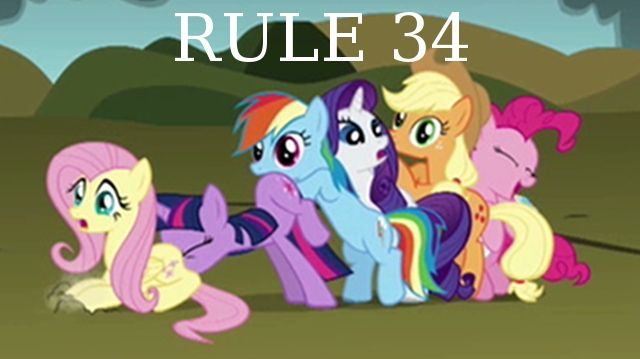 Rule 34 my little pony video