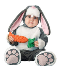 Not a picture of the actual baby Emma, but a good excuse for a picture of a baby in an animal costume