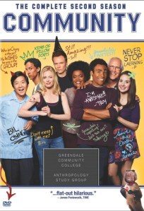 Community season 2 DVD cover