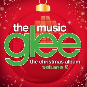 Glee Christmas album 2 cover