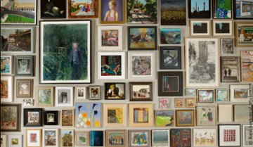 snippet of Royal Academy summer exhibition