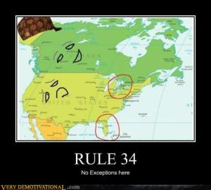 rule 34 no exceptions north america map