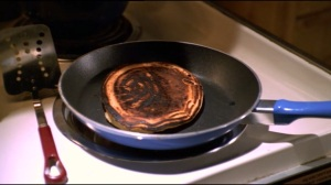Burnt pancake from 'Wrecked'