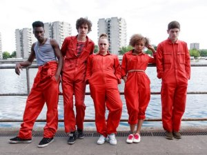 Misfits gang in jumpsuits