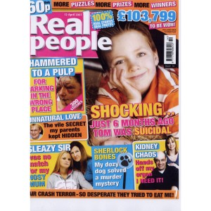 Real People magazine cover
