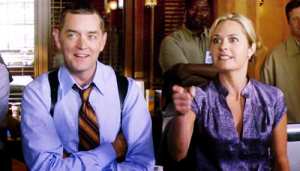 Detectivers Lassiter and O'Hara from Psych