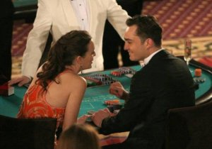 Chuck and Blair in the casino