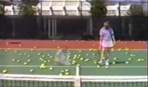 Phenom opening with tennis balls