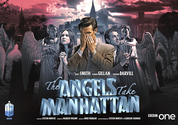 poster for Doctor Who episode The Angels Take Manhattan