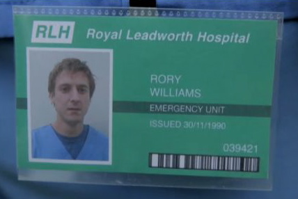 Picture of Rory's ID dated 1990