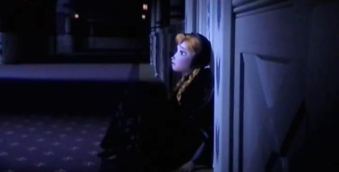 frozen anna mourning