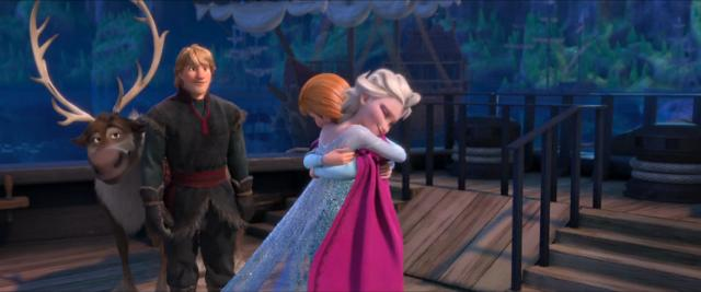 frozen sisters reunited