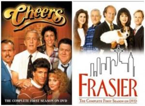Cheers Frasier posters