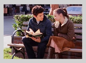 Rory and Jess reading