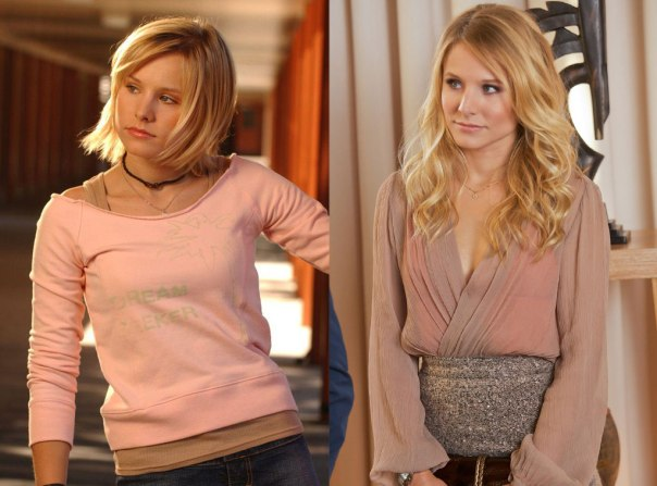 Veronica Mars then and now