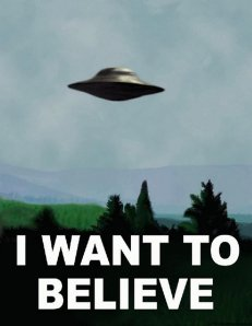 X Files I Want to Believe Poster
