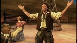 Hugh Jackman in Oklahoma! stage show